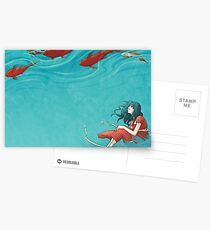 Koi Postcards