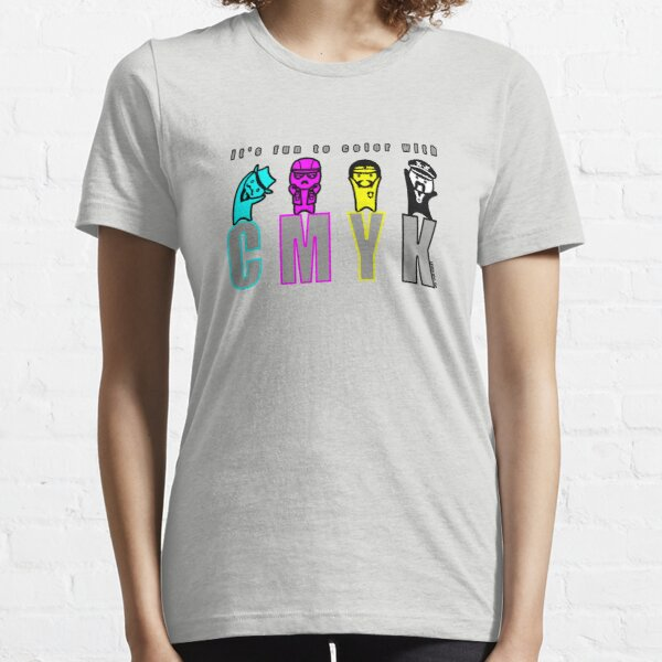 CMYK People Essential T-Shirt