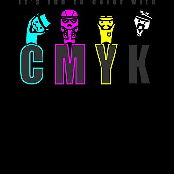 CMYK People by laurawho