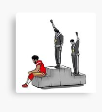 Black power art merchandise Canvas Print
