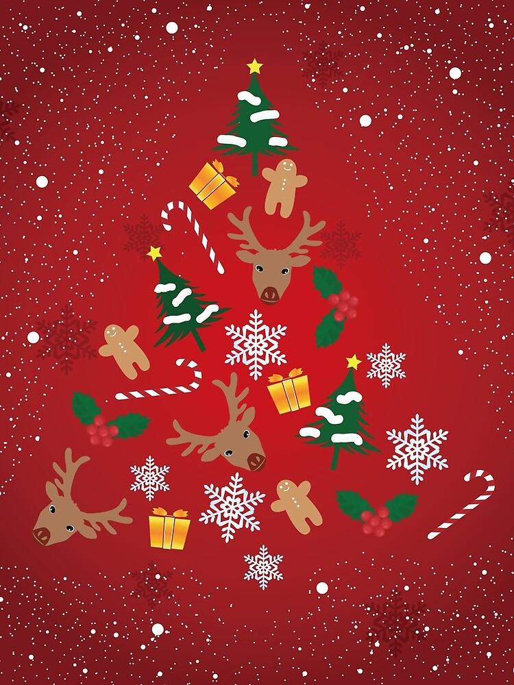 christmas by hichako