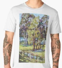 Rawdon Island - plein air Men's Premium T-Shirt