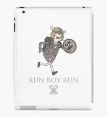 Run Boy Run (Adventure Time parody) iPad Case/Skin