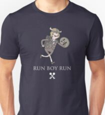 Run Boy Run (Adventure Time parody) Unisex T-Shirt