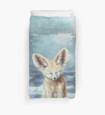 A Fennec's Dream Duvet Cover