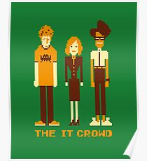 Retro Pixel - The IT Crowd Poster