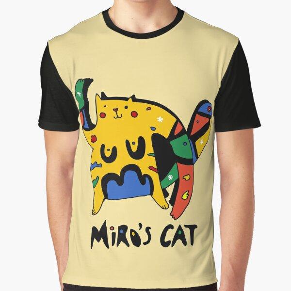 Joan Miro's cat Graphic T-Shirt