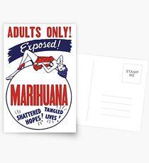 Marihuana Postcards