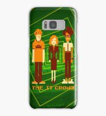 Retro Pixel - The IT Crowd Samsung Galaxy Case/Skin