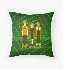 Retro Pixel - The IT Crowd Throw Pillow