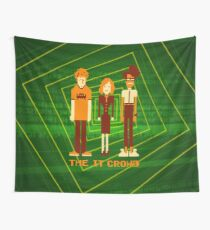 Retro Pixel - The IT Crowd Wall Tapestry