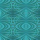Network Blue by John Edwards