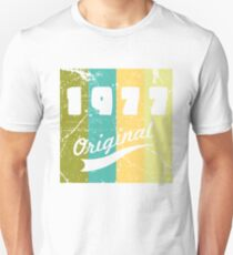 1977 Original 40th Birthday Vintage Gift Unisex T Shirt