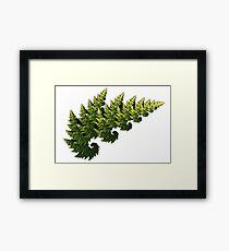 Tree Fractal Framed Print