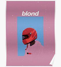 Frank Ocean - Blonde Design Poster