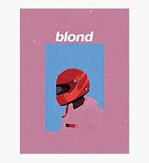 Frank Ocean - Blonde Design Photographic Print