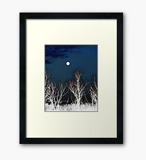 The Moon--Tarot Major Arcana Framed Print