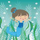 Happy Meitlis - Meerjungfrau von WACHtraum