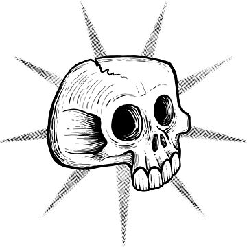 Punk Skull by os-frontis