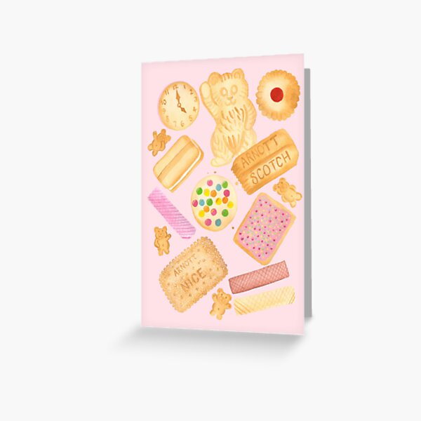 Biscuits In Bed Greeting Card