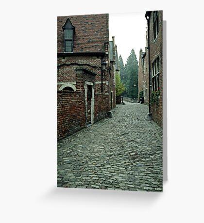 Groot Begijnhof, Leuven, Belgium Greeting Card
