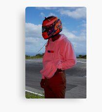 Frank Ocean - Helmet Canvas Print