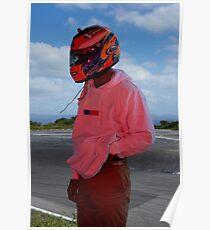 Frank Ocean - Helmet Poster