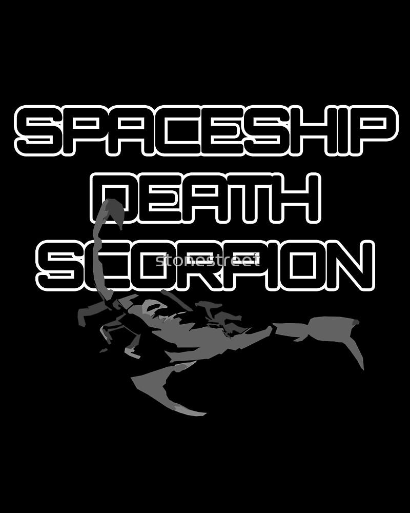 Spaceship Death Scorpion by stonestreet