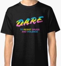 DARE 90s drugs tshirt shirt Classic T-Shirt