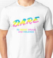 DARE 90s drugs tshirt shirt T-Shirt