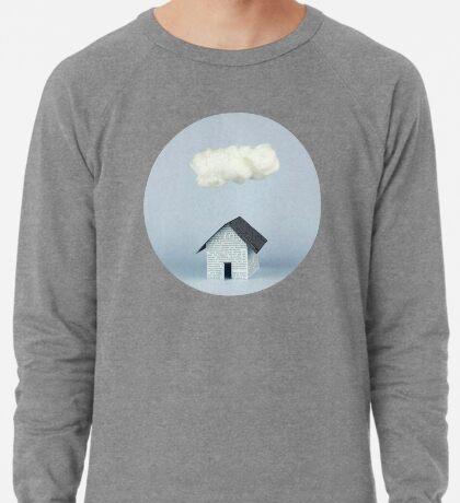 Eine Wolke über dem Haus Leichter Pullover