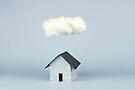 Eine Wolke über dem Haus von josemanuelerre