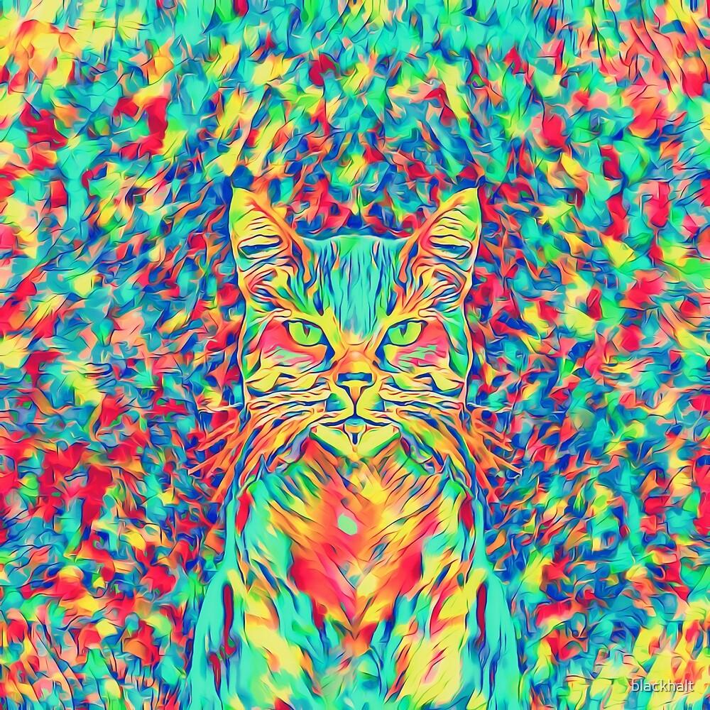 Color Cat by blackhalt