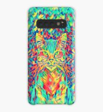 Color Cat Case/Skin for Samsung Galaxy