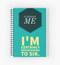 Sherlock - The Waiter Spiral Notebook