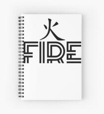 Fire Element Spiral Notebook