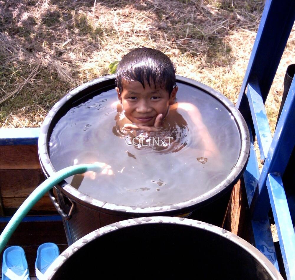Boy Bath bin by COLINxT