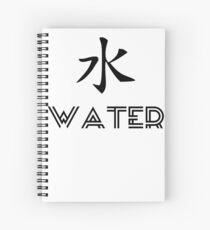 Water Element Spiral Notebook