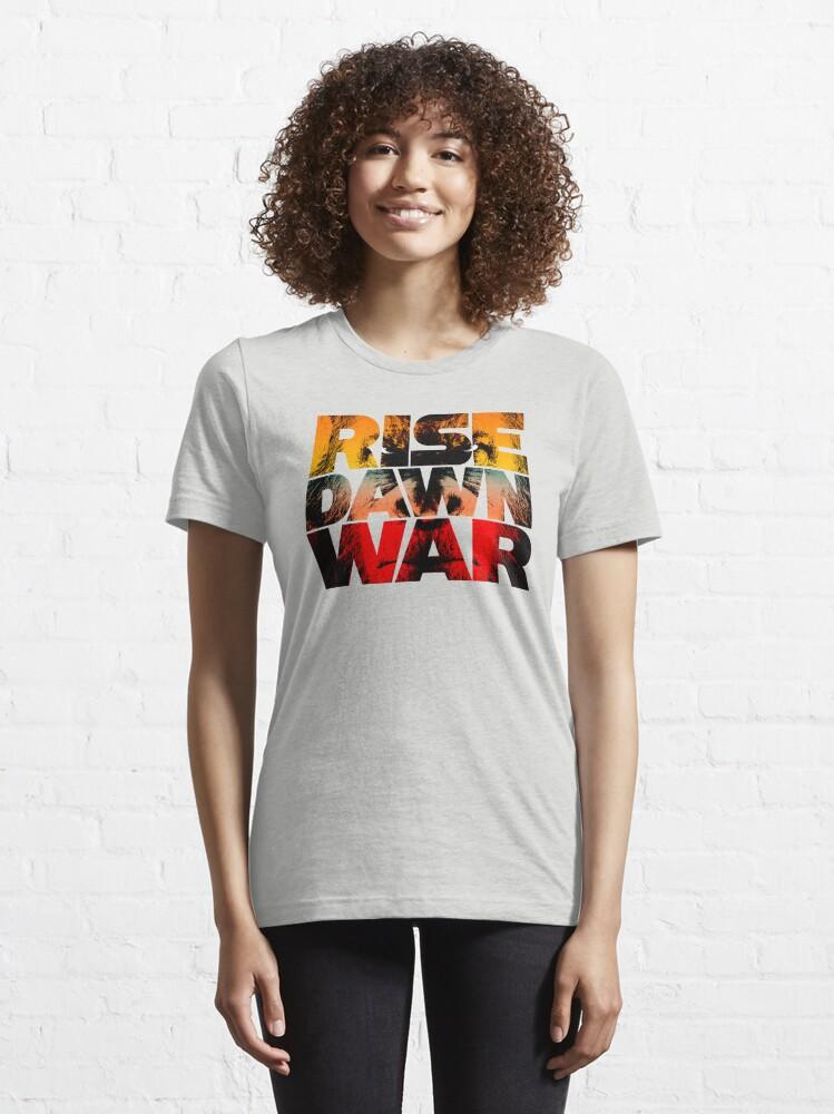 Alternate view of Rise, Dawn & War Essential T-Shirt