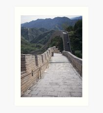 Beijing Great wall  Art Print