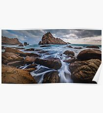 Stormy South - Sugarloaf Rock Poster