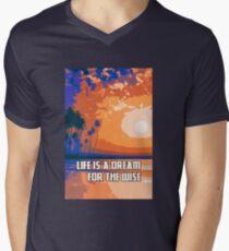 Life is a Dream Men's V-Neck T-Shirt