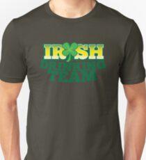 IRISH drinking Team with beer pint and Shamrock Unisex T-Shirt