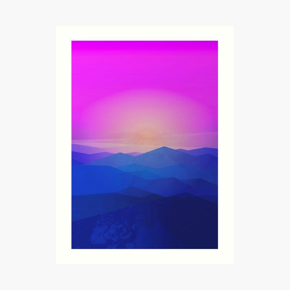 Australia mountains Art Print