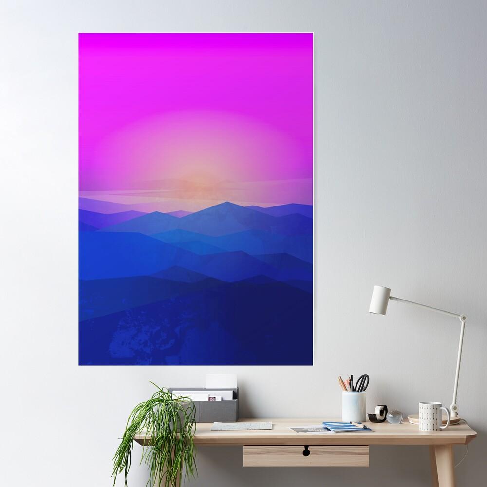 Australia mountains Poster