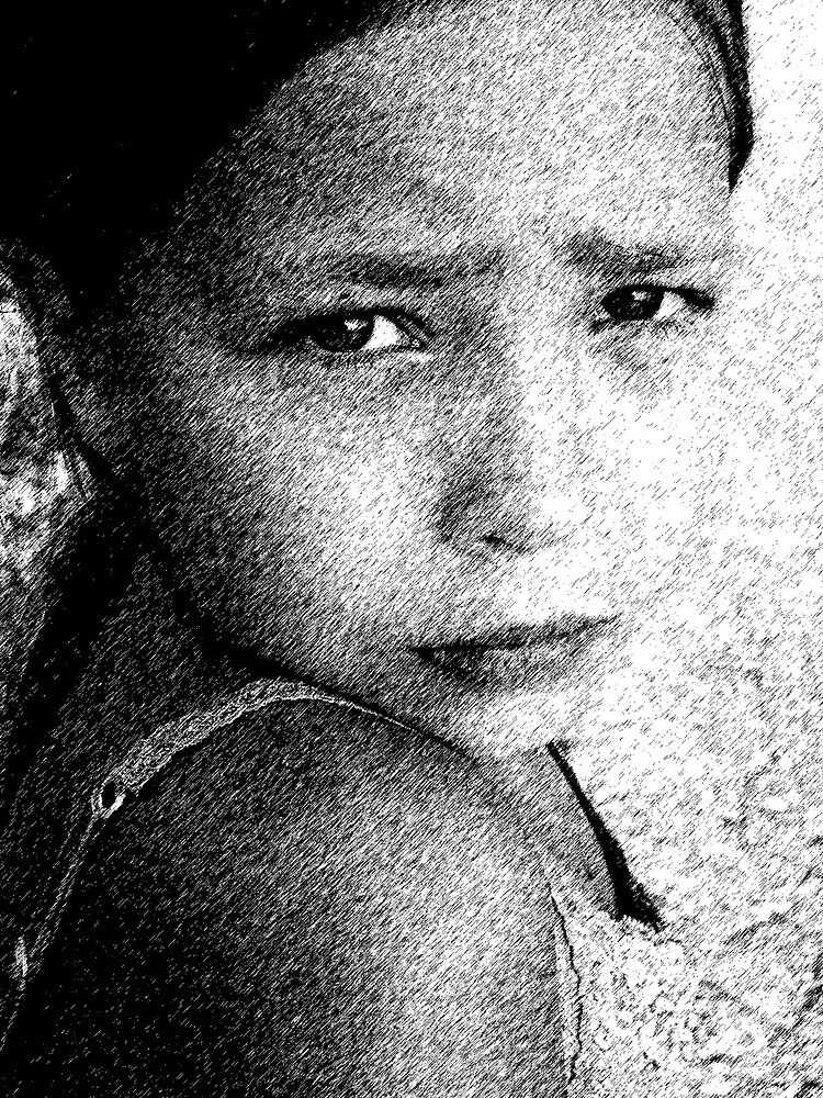 portrait by AliyahK