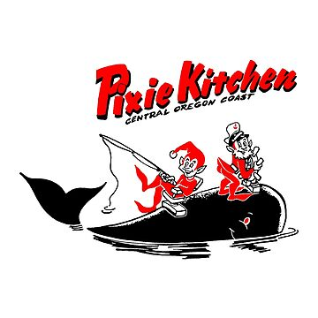 Pixie Kitchen Whale, Captain, and Fisherman by Hedrin