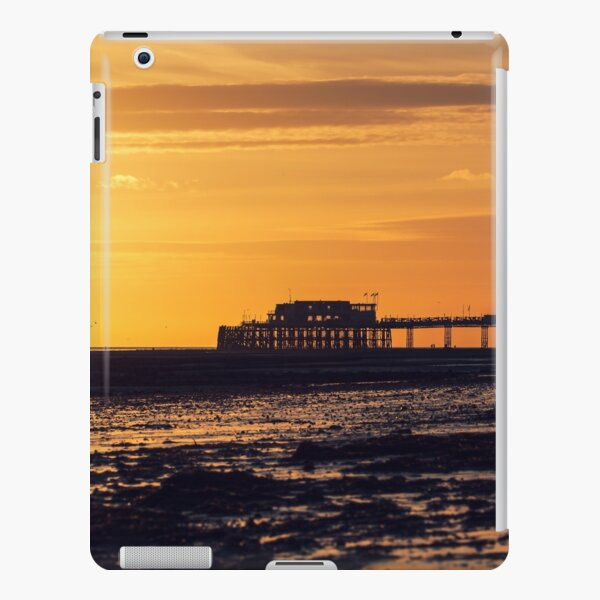 Worthing Pier at sunset iPad Snap Case