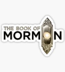 Book of Mormon logo Sticker