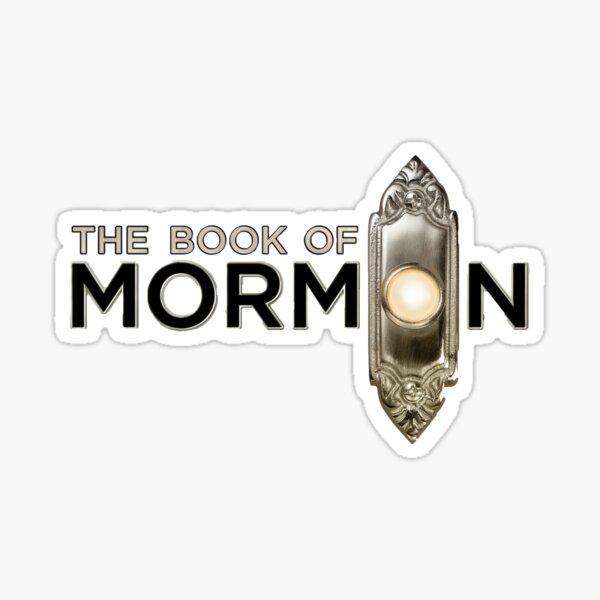Book of Mormon logo Sticker